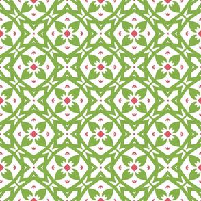 Green Garden Trellis