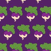 Turnip On Purple