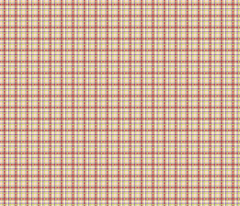 RusticVeggiePlaidSm fabric by blairfully_made on Spoonflower - custom fabric