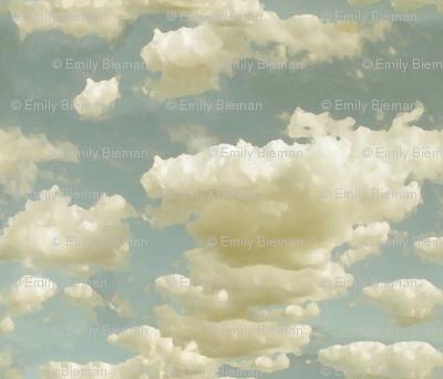 Hazey Day Clouds