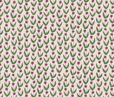 Doodle Garden fabric by jewelraider on Spoonflower - custom fabric