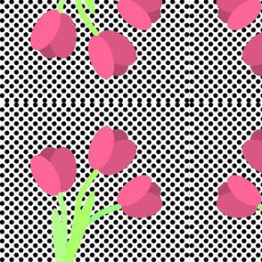 dotty tulips