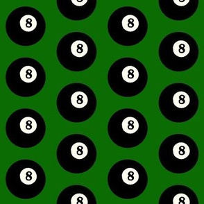 8 Balls on Green // Medium