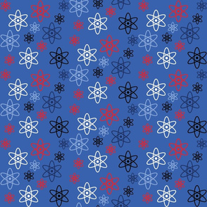 Atomic Science (Red, White and Blue)
