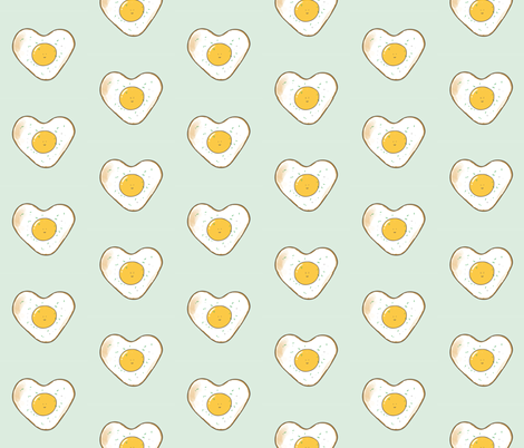 Eggcellent fabric by itscathywu on Spoonflower - custom fabric