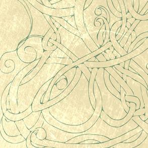 Swirls green
