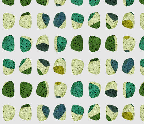 loving stones fabric by variable on Spoonflower - custom fabric