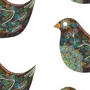 Mandala-Bird