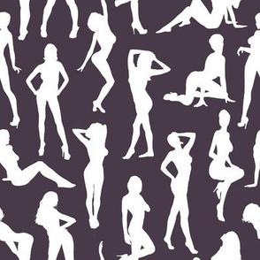 Femmes - Aubergine // Large