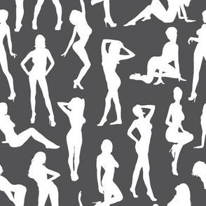 Femmes - Gris Charbon // Large