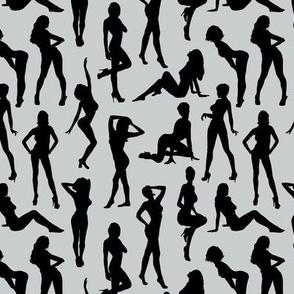 Femmes - Noir et Gris // Small