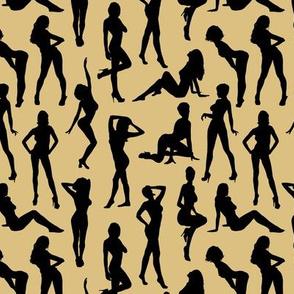Femmes - Noir et Beige // Small