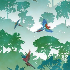 Macaw Canopy // Large