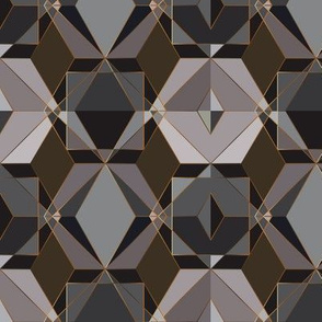Polygon geometric [dark]