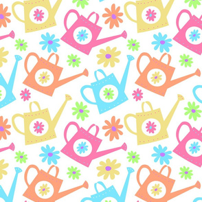 Girly Watering Can