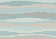 sky blue waves fabric by wren_leyland on Spoonflower - custom fabric