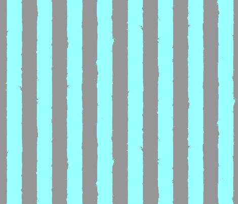 distress stripe gray aqua pastel fabric by whatever-works on Spoonflower - custom fabric