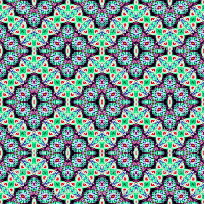 Green Checkered Diamond Buds