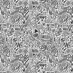 Geometric abstract pattern