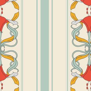 Red Lillies Wallpaper-02