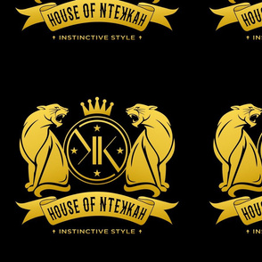 House of NteKKah Black/Gold Logo I