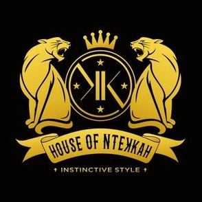 House of NteKKah Gold/Black Logo Mirror III