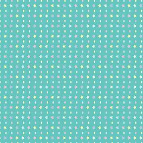 Eggs Stars (green)