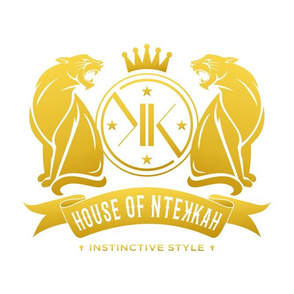 House of NteKKah Gold on White Logo I