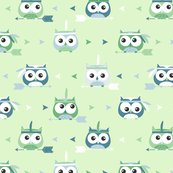 New_owl_pattern_green_tribal_shop_thumb