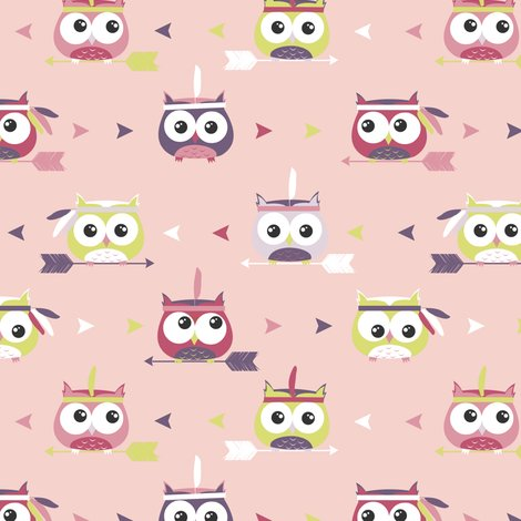 Rnew_owl_pattern_pink_tribal_shop_preview