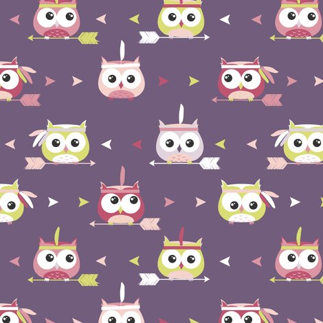 Rnew_owl_pattern_purple2_tribal_shop_preview