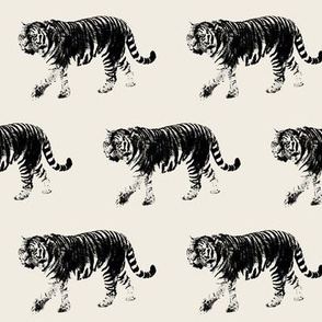 Tiger Prowl // Oyster White // Medium