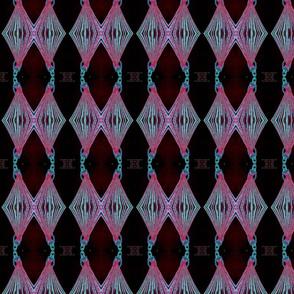 triangular fashion sketch