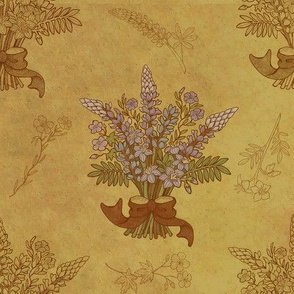 Colored Alaskan Wild Bouquet