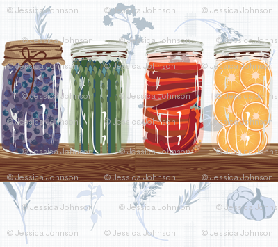 mason jar farmhouse