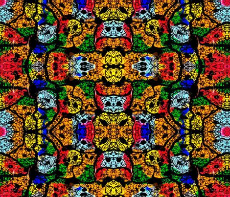 Colorful Madness fabric by diegolandia on Spoonflower - custom fabric