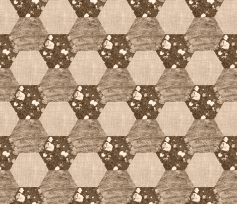 07440812 : vintage veneration : linen wood stone fabric by sef on Spoonflower - custom fabric