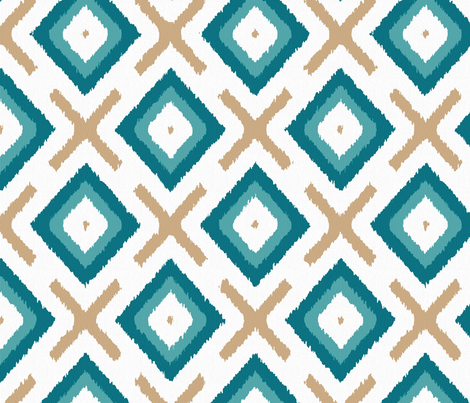 diamonds and crosses fabric by analinea on Spoonflower - custom fabric