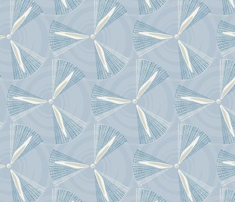 windfarm fabric by fleabat on Spoonflower - custom fabric