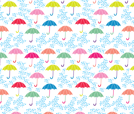 aloha umbrellas fabric by alohababy on Spoonflower - custom fabric