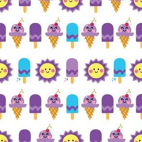 aloha sun and ice cream grape