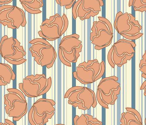 FARMHOUSE_FLOWERS fabric by yasminah_combary on Spoonflower - custom fabric