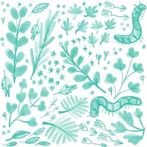 Garden caterpillars