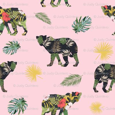"""8"""" Tropical Safari Mix & Match - Pink"""