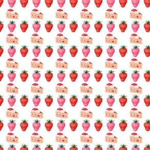 Cute Pink Strawberry Shortcake