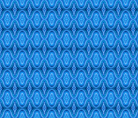 Rippled Blue Diamonds fabric by just_meewowy_design on Spoonflower - custom fabric