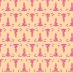 Uterus Yellow