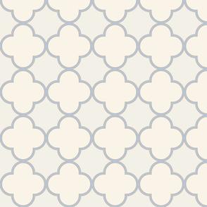 creamy-quatrefoil