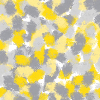 Mustard Abstract Pattern