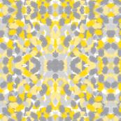 Mustard Abstract Pattern